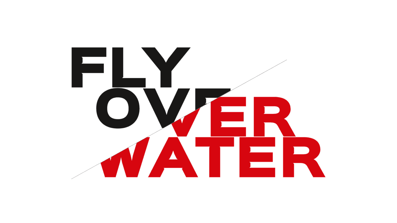 Fly Over Water Dummy