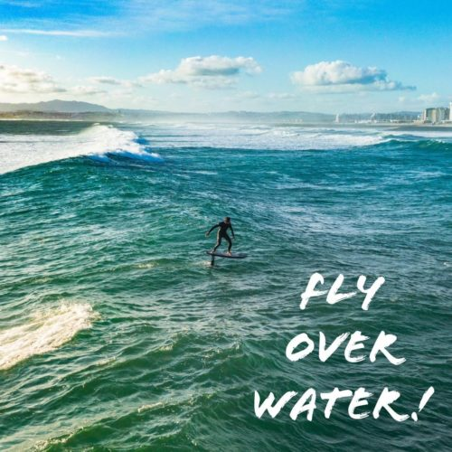 Shaka Fly Over Water